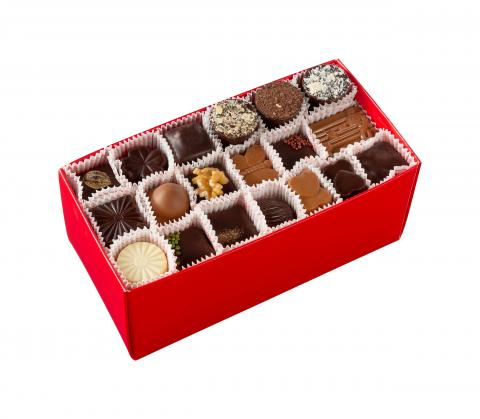 Medium travel box - 60 pralines